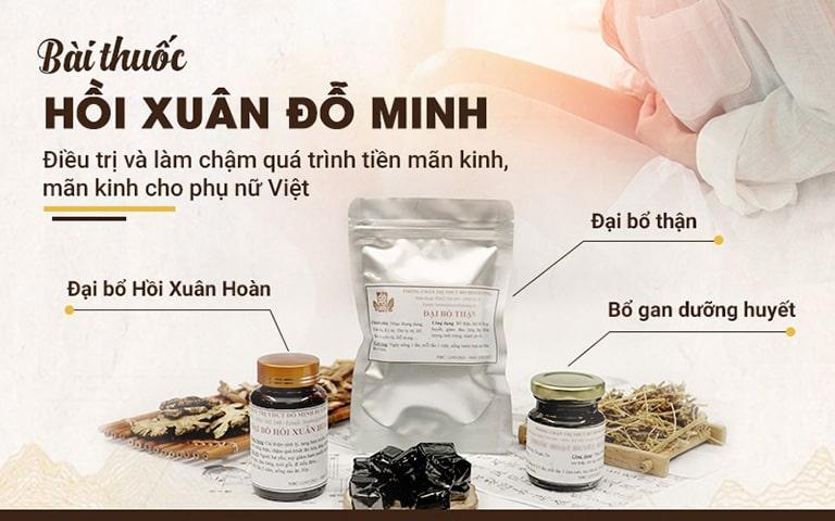 Bài thuốc Hồi xuân Đỗ Minh cho phụ nữ Việt