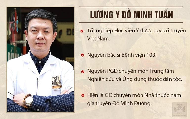 Lương y Đỗ Minh Tuấn - Có gần 20 năm kinh nghiệm khám chữa xương khớp