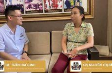 Chị Bách chia sẻ lại tình trạng bệnh khi tái khám tại Đỗ Minh Đường