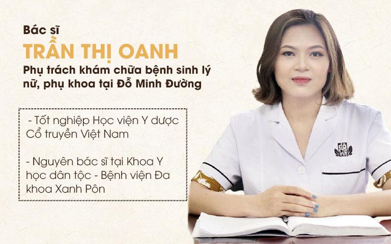 Bác sĩ Oanh chữa bệnh mát tay được chị em tin tưởng