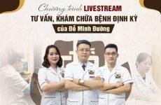 Nhà thuốc Đỗ Minh Đường cũng triển khai chương trình livestream định kỳ tương tác cùng người bệnh