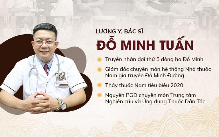 Lương y Đỗ Minh Tuấn - Chuyên gia với nhiều năm kinh nghiệm trong khám chữa xuất tinh sớm