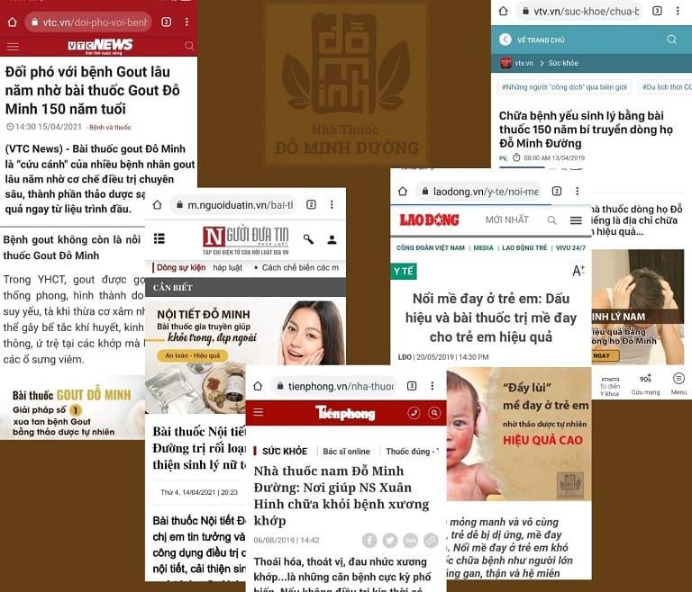Đỗ Minh Đường nhận được lời khen từ nhiều kênh báo chí