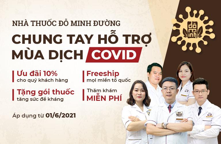 Đỗ Minh Đường chung tay hỗ trợ mùa dịch COVID