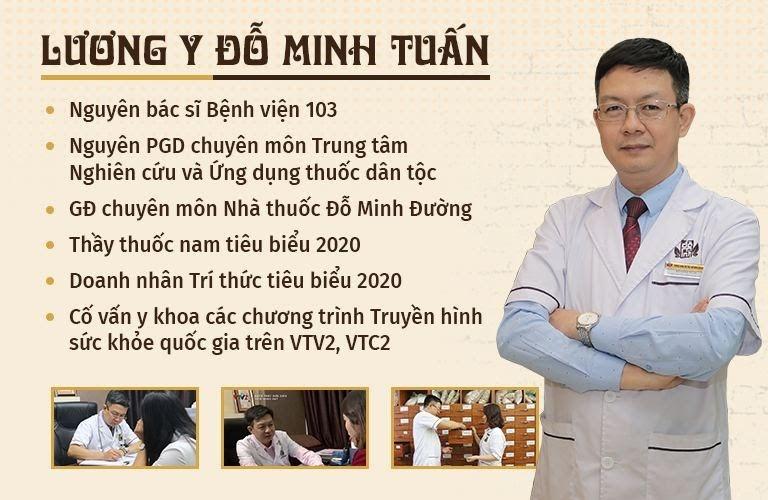 Lương y Đỗ Minh Tuấn - Người khởi xướng hoạt động gửi quà giúp miền Nam chống dịch