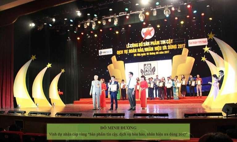 Nhà thuốc Đỗ Minh Đường nhận nhiều giải thưởng lớn, uy tín