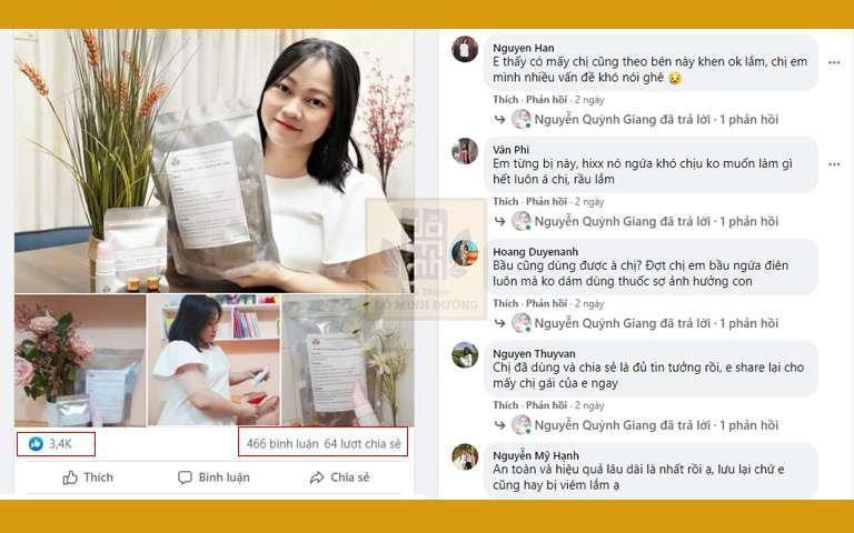 Bài đăng của hotmom Quỳnh Giang