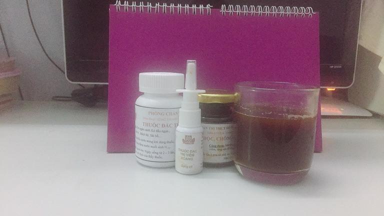 Thảo Thương chia sẻ cả 3 loại thuốc trong liệu trình Viêm xoang Đỗ Minh đều rất dễ sử dụng
